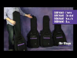 GB-4660 Deluxe Guitar Gig Bag Series