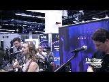 Mandi Powell and the Contra Band On-Stage at NAMM 2013
