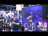 Waylon Hick On-Stage at NAMM 2013