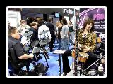 Aeromyth at the On-Stage Stands booth - NAMM 2010