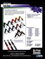 Specsheet for Item# 50204 Model#GSA10BK