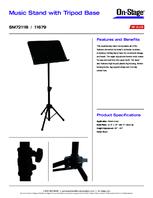 Specsheet for Item# 11192 Model#SM7211B
